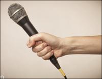 Reporter microfoon