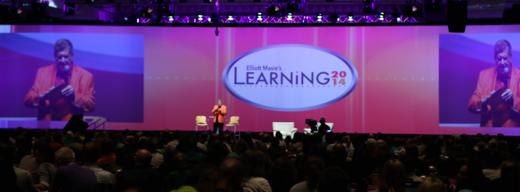 Start van Learning 2014, zondagavond 26 oktober.